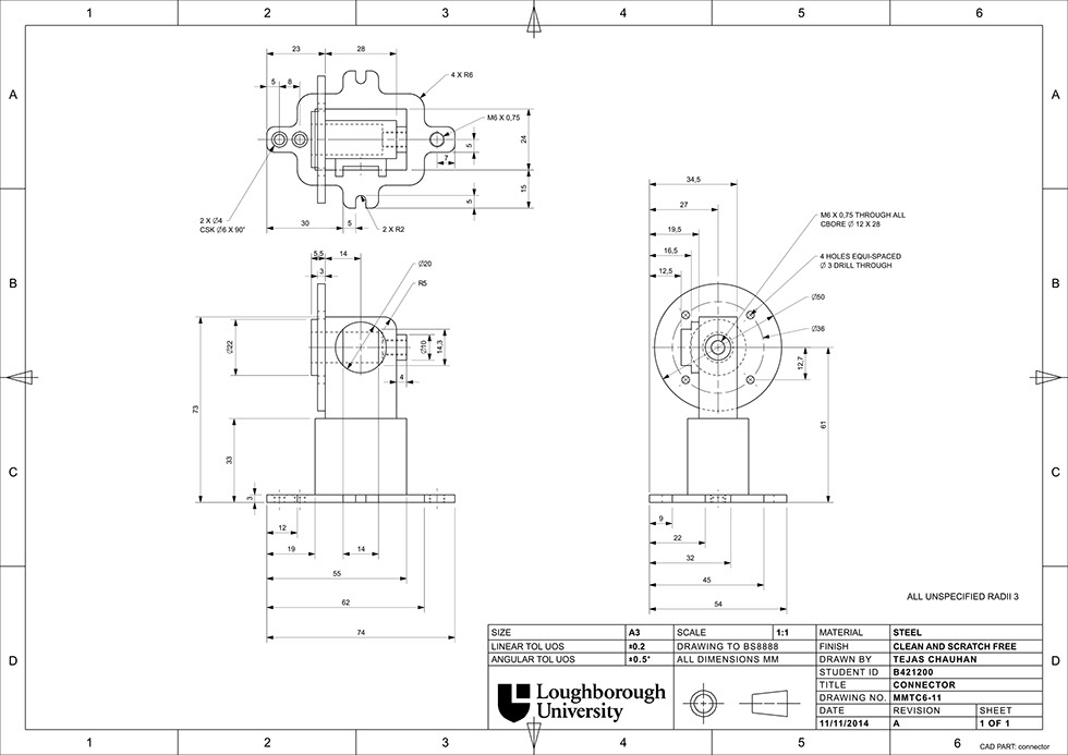 bs8888 technical drawing